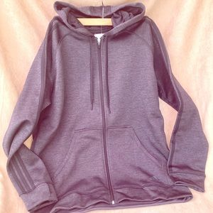 Adidas Hooded Zip up Sweatshirt